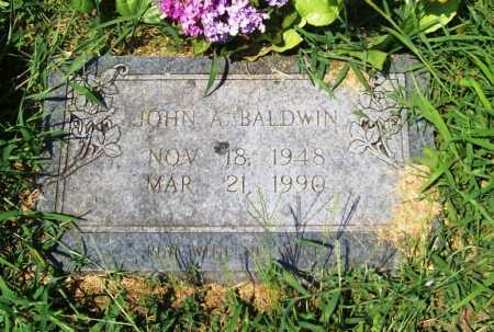BALDWIN, JOHN A. - Benton County, Arkansas | JOHN A. BALDWIN - Arkansas Gravestone Photos