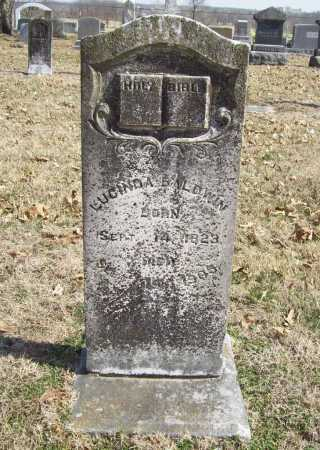 BALDWIN, LUCINDA BELLE - Benton County, Arkansas | LUCINDA BELLE BALDWIN - Arkansas Gravestone Photos