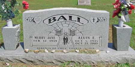 BALL (VETERAN), ALVIN EDWARD - Benton County, Arkansas | ALVIN EDWARD BALL (VETERAN) - Arkansas Gravestone Photos