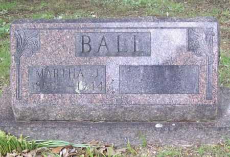 BALL, MARTHA J. - Benton County, Arkansas | MARTHA J. BALL - Arkansas Gravestone Photos
