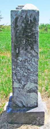 KEITH BALLINGER, MARY - Benton County, Arkansas | MARY KEITH BALLINGER - Arkansas Gravestone Photos