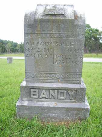 BANDY (VETERAN CSA), WILLIAM J - Benton County, Arkansas | WILLIAM J BANDY (VETERAN CSA) - Arkansas Gravestone Photos