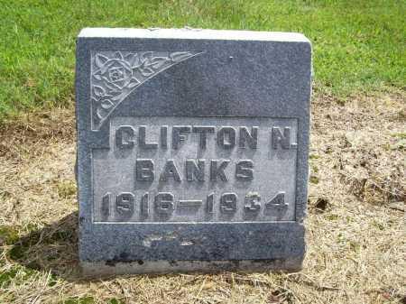 BANKS, CLIFTON N. - Benton County, Arkansas | CLIFTON N. BANKS - Arkansas Gravestone Photos