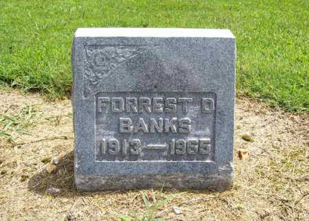 BANKS, FORREST D. - Benton County, Arkansas | FORREST D. BANKS - Arkansas Gravestone Photos