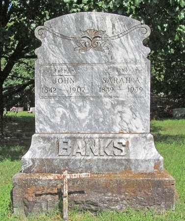 BANKS, SARAH A - Benton County, Arkansas | SARAH A BANKS - Arkansas Gravestone Photos