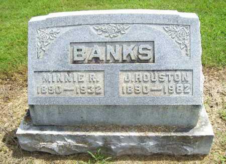 NICHOLS BANKS, MINNIE ROSE - Benton County, Arkansas | MINNIE ROSE NICHOLS BANKS - Arkansas Gravestone Photos