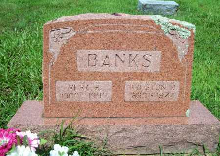 BANKS, PRESTON D. - Benton County, Arkansas | PRESTON D. BANKS - Arkansas Gravestone Photos