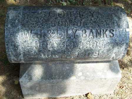 BANKS, SCOTT YEARGAIN - Benton County, Arkansas | SCOTT YEARGAIN BANKS - Arkansas Gravestone Photos