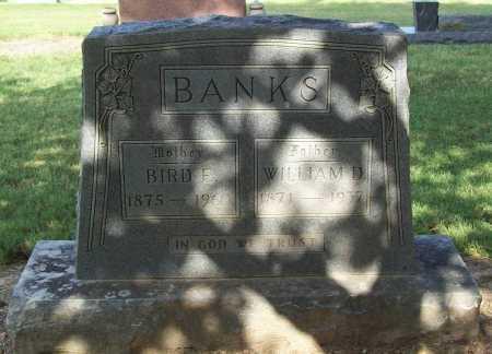 BANKS, WILLIAM D. - Benton County, Arkansas | WILLIAM D. BANKS - Arkansas Gravestone Photos
