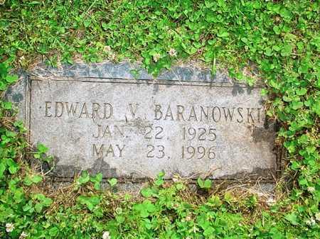 BARANOWSKI, EDWARD V. - Benton County, Arkansas   EDWARD V. BARANOWSKI - Arkansas Gravestone Photos