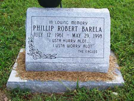 BARELA, PHILLIP ROBERT - Benton County, Arkansas | PHILLIP ROBERT BARELA - Arkansas Gravestone Photos