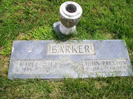 BARKER, JOHN PRESTON - Benton County, Arkansas | JOHN PRESTON BARKER - Arkansas Gravestone Photos