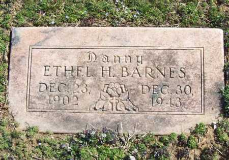 BARNES, ETHEL H. - Benton County, Arkansas | ETHEL H. BARNES - Arkansas Gravestone Photos