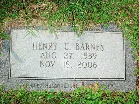 BARNES, HENRY C. - Benton County, Arkansas | HENRY C. BARNES - Arkansas Gravestone Photos