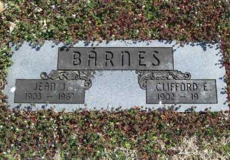 BARNES, JEAN J. - Benton County, Arkansas | JEAN J. BARNES - Arkansas Gravestone Photos