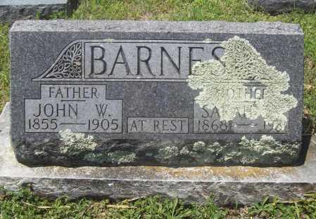 BARNES, SARAH E. - Benton County, Arkansas | SARAH E. BARNES - Arkansas Gravestone Photos