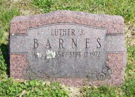BARNES, LUTHER J. - Benton County, Arkansas | LUTHER J. BARNES - Arkansas Gravestone Photos