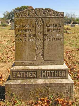 BARNES, SARAH S. - Benton County, Arkansas | SARAH S. BARNES - Arkansas Gravestone Photos
