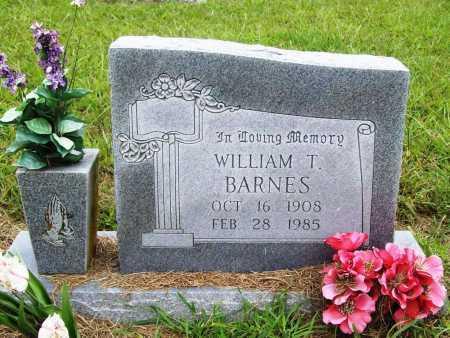 BARNES, WILLIAM T. - Benton County, Arkansas | WILLIAM T. BARNES - Arkansas Gravestone Photos