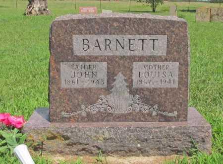 BARNETT, JOHN WESLEY - Benton County, Arkansas | JOHN WESLEY BARNETT - Arkansas Gravestone Photos