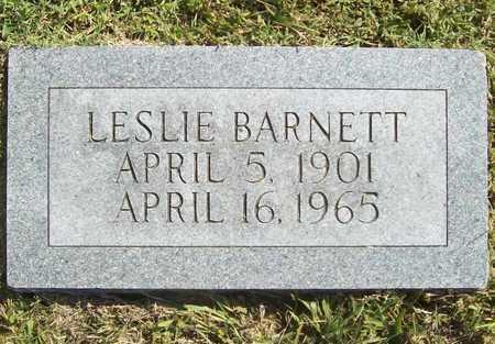 BARNETT, LESLIE - Benton County, Arkansas   LESLIE BARNETT - Arkansas Gravestone Photos