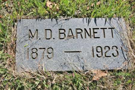 BARNETT, M. D. - Benton County, Arkansas | M. D. BARNETT - Arkansas Gravestone Photos