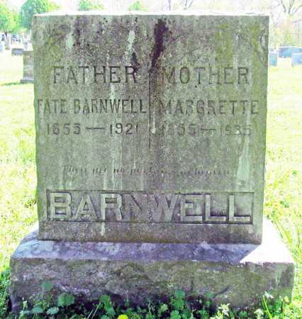 BARNWELL, MARGRETTE - Benton County, Arkansas | MARGRETTE BARNWELL - Arkansas Gravestone Photos