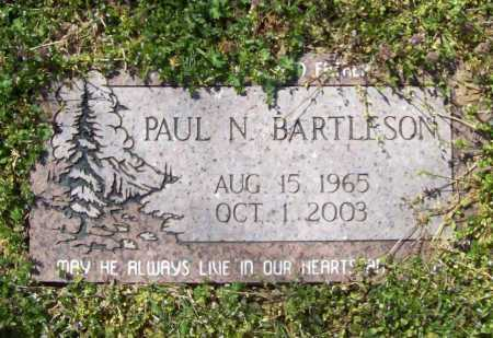 BARTLESON, PAUL N. - Benton County, Arkansas   PAUL N. BARTLESON - Arkansas Gravestone Photos