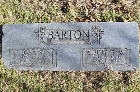 "BARTON, ALBERT ""B.M."" - Benton County, Arkansas | ALBERT ""B.M."" BARTON - Arkansas Gravestone Photos"