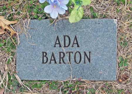 BARTON, ADA - Benton County, Arkansas | ADA BARTON - Arkansas Gravestone Photos