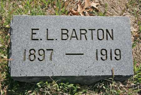 BARTON, E. L. - Benton County, Arkansas | E. L. BARTON - Arkansas Gravestone Photos