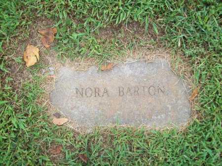 BARTON, NORA - Benton County, Arkansas   NORA BARTON - Arkansas Gravestone Photos