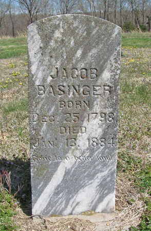 BASINGER, JACOB - Benton County, Arkansas | JACOB BASINGER - Arkansas Gravestone Photos