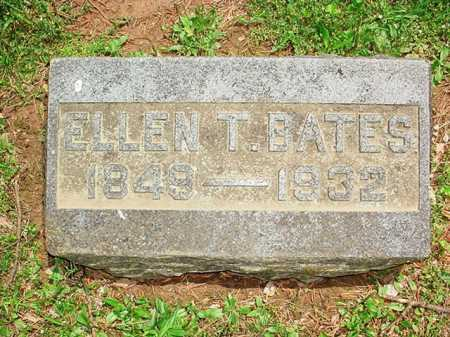 BATES, ELLEN T. - Benton County, Arkansas   ELLEN T. BATES - Arkansas Gravestone Photos