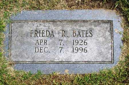 BATES, FRIEDA R. - Benton County, Arkansas | FRIEDA R. BATES - Arkansas Gravestone Photos
