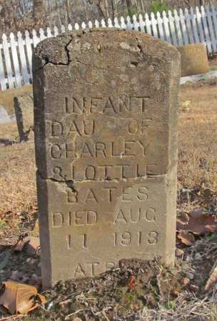 BATES, INFANT DAUGHTER - Benton County, Arkansas | INFANT DAUGHTER BATES - Arkansas Gravestone Photos