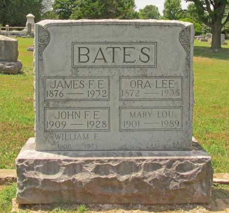BATES, ORA LEE - Benton County, Arkansas | ORA LEE BATES - Arkansas Gravestone Photos