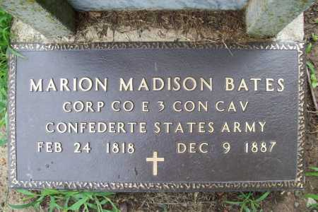 BATES (VETERAN CSA), MARION MADISON - Benton County, Arkansas | MARION MADISON BATES (VETERAN CSA) - Arkansas Gravestone Photos