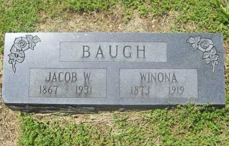 BAUGH, JACOB W. - Benton County, Arkansas | JACOB W. BAUGH - Arkansas Gravestone Photos