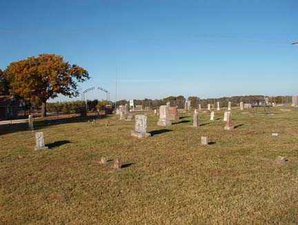 *BAYLESS CEMETERY OVERVIEW,  - Benton County, Arkansas |  *BAYLESS CEMETERY OVERVIEW - Arkansas Gravestone Photos