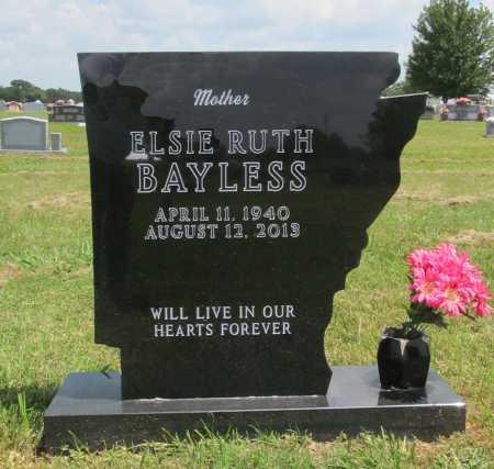 BAYLESS, ELSIE RUTH - Benton County, Arkansas | ELSIE RUTH BAYLESS - Arkansas Gravestone Photos