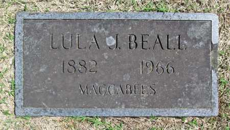 BEALL, LULA J - Benton County, Arkansas | LULA J BEALL - Arkansas Gravestone Photos