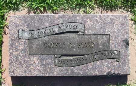 BEARD, GEORGE F. - Benton County, Arkansas | GEORGE F. BEARD - Arkansas Gravestone Photos