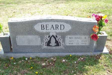 BEARD, MICHAEL A. - Benton County, Arkansas   MICHAEL A. BEARD - Arkansas Gravestone Photos
