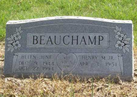 BEAUCHAMP, HELEN JUNE - Benton County, Arkansas | HELEN JUNE BEAUCHAMP - Arkansas Gravestone Photos