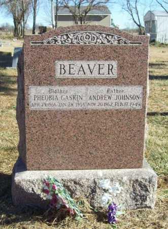 GASKIN BEAVER, PHEOBIA - Benton County, Arkansas | PHEOBIA GASKIN BEAVER - Arkansas Gravestone Photos