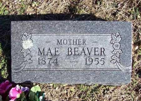 BEAVER, MAE - Benton County, Arkansas   MAE BEAVER - Arkansas Gravestone Photos