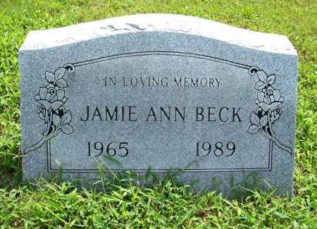 BECK, JAMIE ANN - Benton County, Arkansas   JAMIE ANN BECK - Arkansas Gravestone Photos