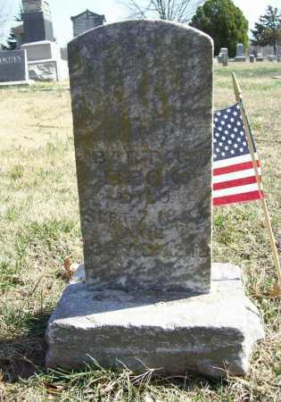 BECK (VETERAN), BART C - Benton County, Arkansas | BART C BECK (VETERAN) - Arkansas Gravestone Photos