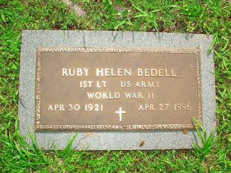BEDELL (VETERAN WWII), RUBY HELEN - Benton County, Arkansas | RUBY HELEN BEDELL (VETERAN WWII) - Arkansas Gravestone Photos